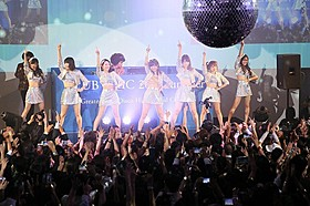 「AKB48」7人が1000人の観客に振り付けをレクチャー!