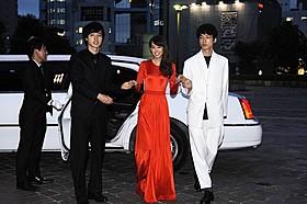 (左から)山崎賢人、桐谷美玲、坂口健太郎「ヒロイン失格」