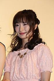 舞台挨拶で熱烈アピールした武田梨奈「TOKYO CITY GIRL」