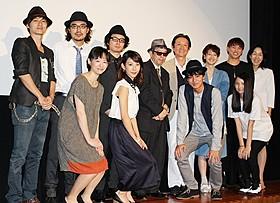 """矢崎仁司監督と""""素敵なキス""""を演じたキャスト陣「キス」"""