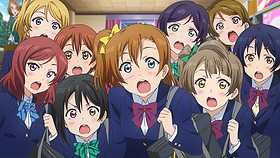 「ラブライブ! The School Idol Movie」の一場面「ラブライブ!The School Idol Movie」