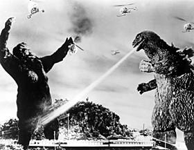 1962年日本公開の「キングコングVSゴジラ」「パシフィック・リム」
