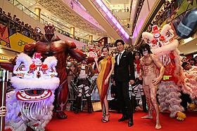 香港で行われた「進撃の巨人」後編ワールドプレミア「進撃の巨人 ATTACK ON TITAN」