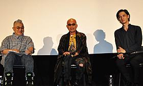 リバイバル上映でトークを繰り広げた 石井隆監督、竹中直人、安藤政信「GONIN」