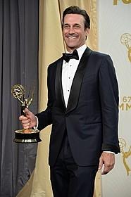 ドラマ部門主演男優賞を受賞したジョン・ハム