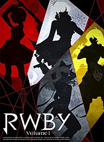 「RWBY Volume1」キービジュアル「RWBY VOLUME 1」
