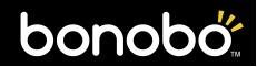 「bonobo(ボノボ)」ロゴ「ストロボ・エッジ」