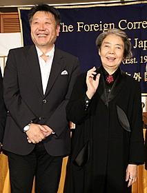 原田眞人監督と樹木希林「わが母の記」