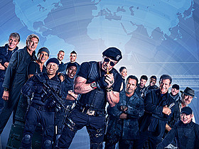 「エクスペンダブルズ3 ワールドミッション」の一場面「エクスペンダブルズ」