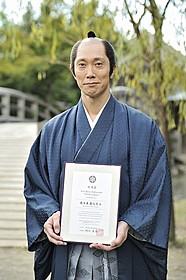 京都国際観光大使に就任した佐々木蔵之介「超高速!参勤交代 リターンズ」