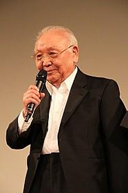 登壇した中島貞夫監督「時代劇は死なず ちゃんばら美学考」