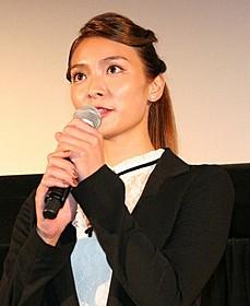 ワールドプレミア上映に出席した秋元才加「劇場版 媚空 ビクウ」
