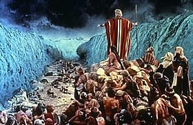「十戒」の一場面「十戒(1957)」