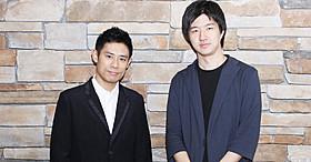 インタビューに応じた伊藤淳史&真壁幸紀監督「ボクは坊さん。」