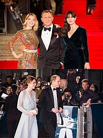 「007」キャストとキャサリン妃が美の競演!「007 スペクター」