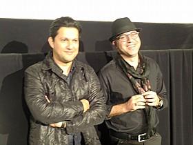 シャーラム・シャーホセイニ監督と俳優のハメッド・ベーダッド「ガールズ・ハウス」