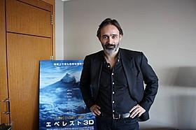 初来日を果たしたバルタザール・コルマウクル監督「エベレスト 3D」