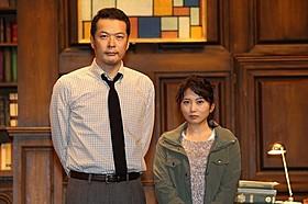 舞台で共演した田中哲司と志田未来「ハンニバル」