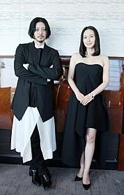 夫婦役で共演したオダギリジョーと中谷美紀「FOUJITA」