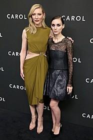 初共演を果たした ケイト・ブランシェットとルーニー・マーラ「キャロル」