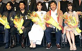 TAMA映画賞授賞式に出席した是枝裕和監督ら「海街diary」