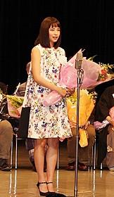 新人女優賞を受賞した広瀬すず「海街diary」