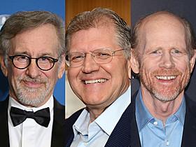 (左から)スティーブン・スピルバーグ、ロバート・ゼメキス、ロン・ハワード「スター・ウォーズ」