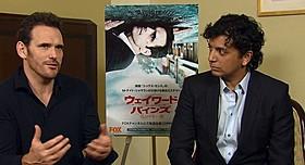 仲むつまじい様子の マット・ディロンとM・ナイト・シャマラン監督「シックス・センス」