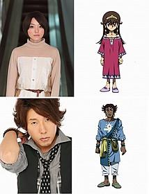 謎多きキャラクターを演じる花澤香菜と日野聡「遊☆戯☆王」
