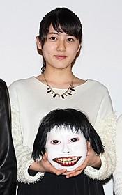 顔面の怪物ヨシエを持つ宇野愛海「デスフォレスト 恐怖の森3」