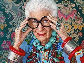 「アイリス・アプフェル!94歳のニューヨーカー」場面写真「アイリス・アプフェル!94歳のニューヨーカー」