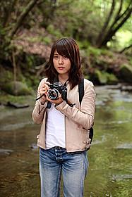 写真家を目指すヒロインの夏美を演じる有村架純「ストロボ・エッジ」