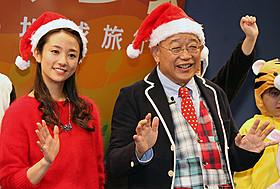 64歳の誕生日を迎えた笑福亭鶴瓶と木村文乃「シーズンズ 2万年の地球旅行」