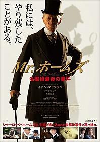 邦題は「Mr.ホームズ 名探偵最後の事件」「Mr.ホームズ 名探偵最後の事件」
