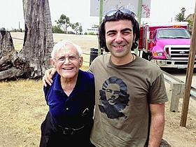 マーディク・マーティン(左)とファティ・アキン「レイジング・ブル」