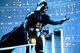 「スター・ウォーズ 帝国の逆襲」の一場面「スター・ウォーズ」