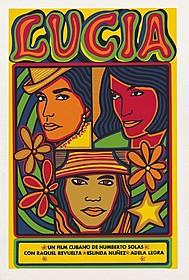 「ルシア」(1968年/キューバ/ウンベルト・ソラス監督) ポスター:ラウル・マルチネス(1968年)