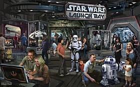 11月にオープンした 「スター・ウォーズ・ローンチ・ベイ」イメージ図「スター・ウォーズ」