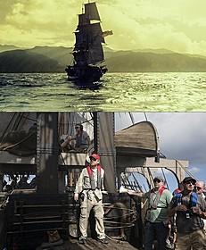 「白鯨との闘い」のメガホン をとったロン・ハワード監督(下段)「白鯨」