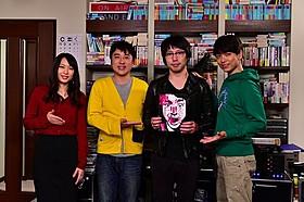 (左から)黒川芽以、ムロツヨシ、高橋優、山崎育三郎