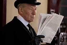 鋭い眼光は衰え知らず!「Mr.ホームズ 名探偵最後の事件」