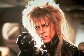 ゴブリンの王を演じた故デビッド・ボウイさん「ラビリンス 魔王の迷宮」