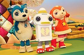 史上初のロボットキャラが登場