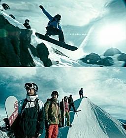 スノーボーダーたちが絶技を披露!「X-ミッション」