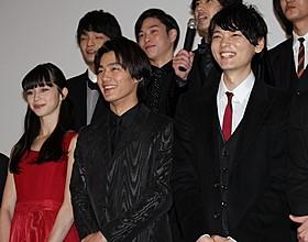 ラブシーンにも余裕の笑みを見せた古川雄輝ら「ライチ☆光クラブ」