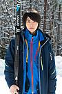 高杉真宙、スキー選手役に初挑戦 長野五輪の競技場で練習重ね「今は楽しく滑ってます」