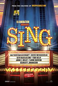 ミュージカルコメディ「SING」は2017年公開「テッド」