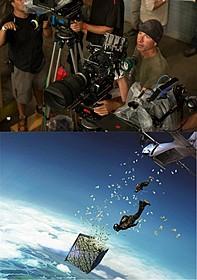 登山ガイドの経験もあるという エリクソン・コア監督(写真上)「X-ミッション」