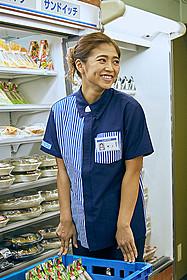 コンビニ店員役で 「植物図鑑」に出演している今井華「植物図鑑 運命の恋、ひろいました」