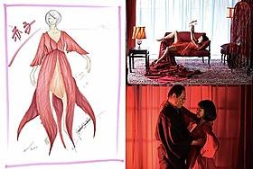 赤子の衣装デザイン(写真左)「蜜のあわれ」
